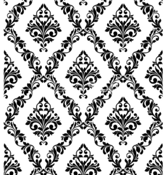 Free damask seamless pattern vector - Kostenloses vector #260827