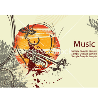 Free music poster vector - Free vector #261107