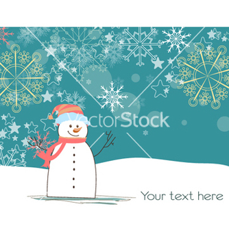 Free winter background vector - vector #261127 gratis