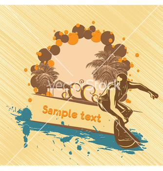 Free summer background vector - бесплатный vector #261287