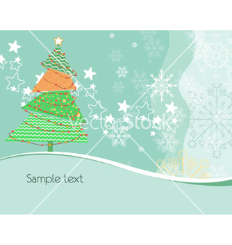 Free tree with stars vector - Kostenloses vector #261557