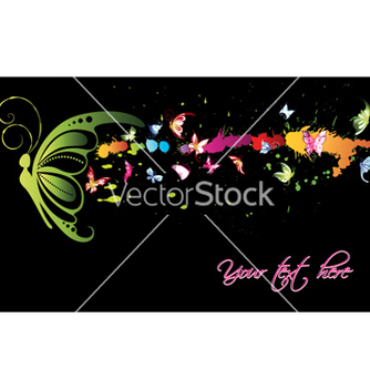 Free watercolor butterflies vector - Free vector #261567