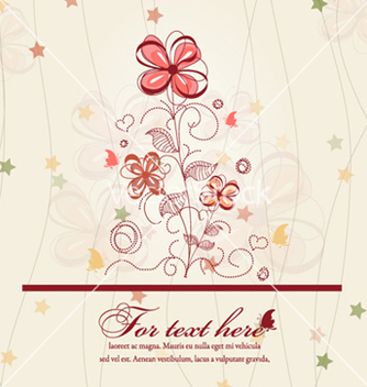 Free spring floral background vector - Kostenloses vector #262237