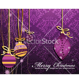 Free christmas background vector - бесплатный vector #262277