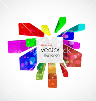 Free colorful abstract background vector - бесплатный vector #262317