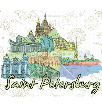Free saint petersburg doodles vector - бесплатный vector #262337