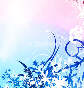 Free abstract floral background vector - Free vector #262587