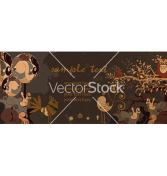 Free retro floral background vector - Free vector #262677