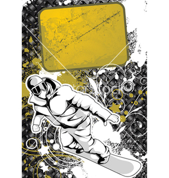 Free snowboarder vector - Free vector #262747