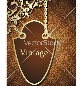 Free wrought iron sign vector - бесплатный vector #263237