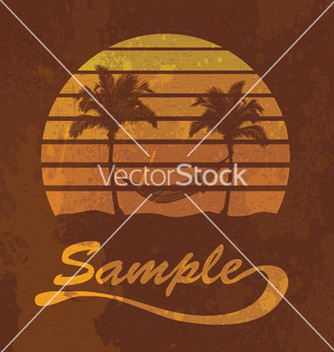 Free grunge summer vector - Free vector #263257