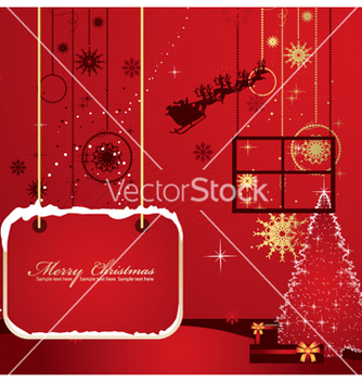 Free christmas greeting card vector - vector #263557 gratis