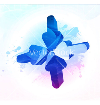Free colorful 3d arrows vector - vector #263637 gratis