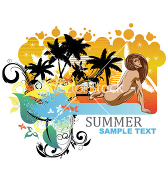 Free summer vector - Free vector #263687