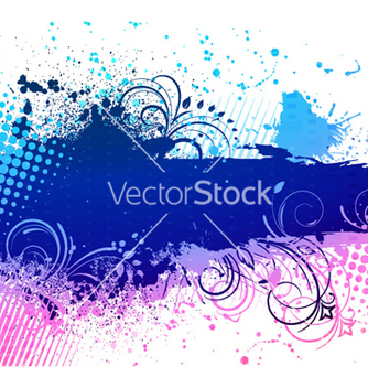 Free colorful grunge background vector - Kostenloses vector #263697