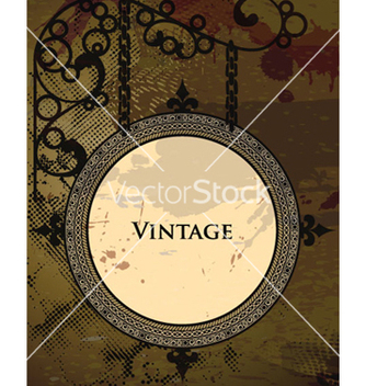 Free vintage frame vector - Free vector #263867