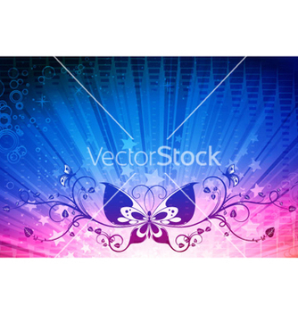 Free rays background vector - vector gratuit #264027