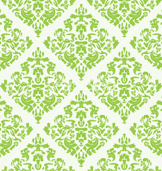 Free seamless baroque pattern vector - бесплатный vector #264087
