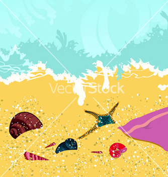 Free summer background vector - Free vector #264097