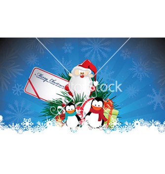 Free christmas greeting card vector - Kostenloses vector #264717
