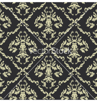 Free seamless baroque pattern vector - бесплатный vector #264737