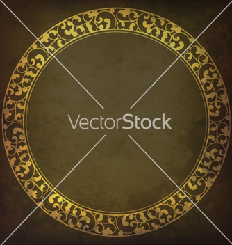 Free vintage frame vector - Free vector #265007