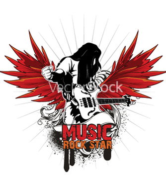Free music emblem vector - Free vector #265017