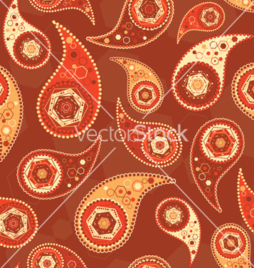 free paisley seamless pattern vector free vector
