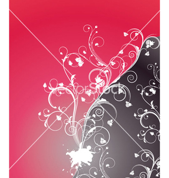 Free abstract floral background vector - Free vector #265307