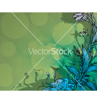 Free colorful floral background vector - vector #265677 gratis