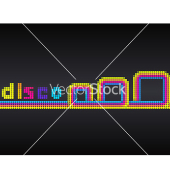 Free abstract disco background vector - Free vector #265737