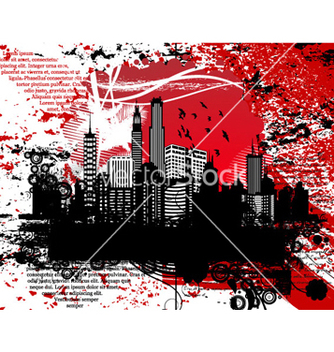 Free grunge urban background vector - Free vector #266037