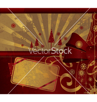 Free christmas greeting card vector - Kostenloses vector #266137