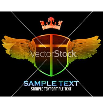 Free colorful emblem vector - Free vector #266167