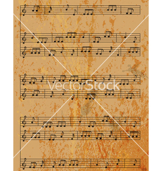 Free vintage music background vector - vector #266527 gratis