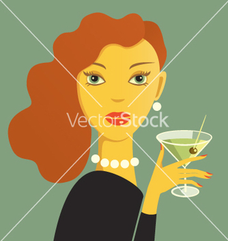 Free femme fatale vector - Free vector #266627