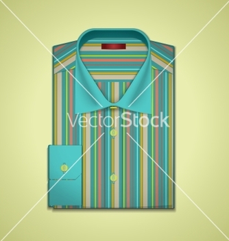 Free striped shirt vector - vector gratuit #266807