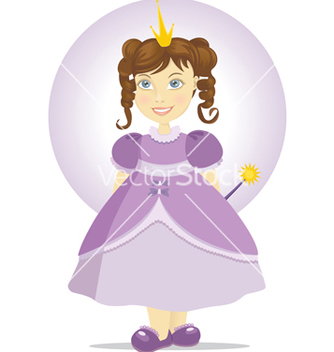 Free fairy princess vector - бесплатный vector #266837