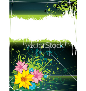 Free colorful floral background vector - Kostenloses vector #266927