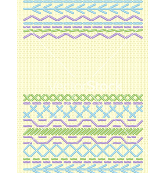 Free ethnic embroider vector - бесплатный vector #266937