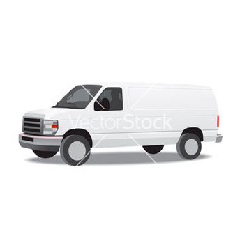 Free delivery van vector - бесплатный vector #267047