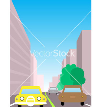 Free city traffic vector - бесплатный vector #267117