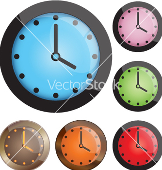 Free clocks vector - бесплатный vector #267277