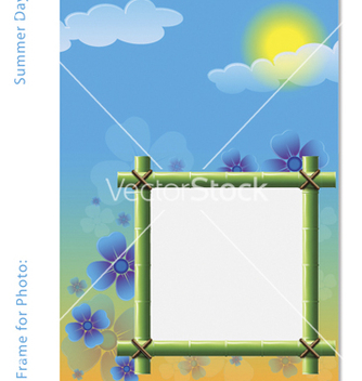 Free frame for photo vector - vector gratuit #267417