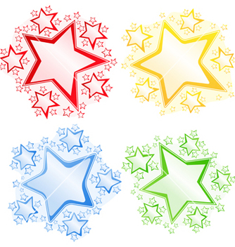 Free stars vector - Free vector #267427