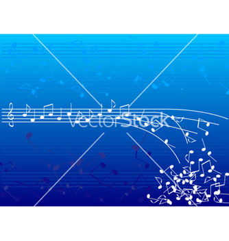 Free blue notes vector - vector gratuit #267517