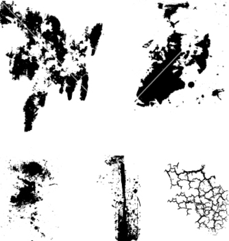Free grunge cracks vector - бесплатный vector #267567