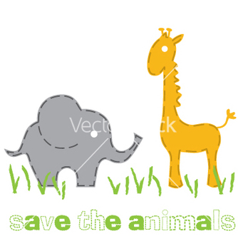 Free wild animals vector - бесплатный vector #267637