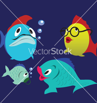 Free fishes vector - Free vector #267847