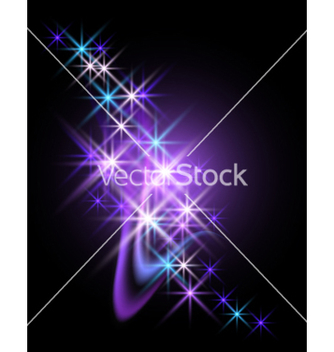 Free abstract starlight design vector - Kostenloses vector #267857
